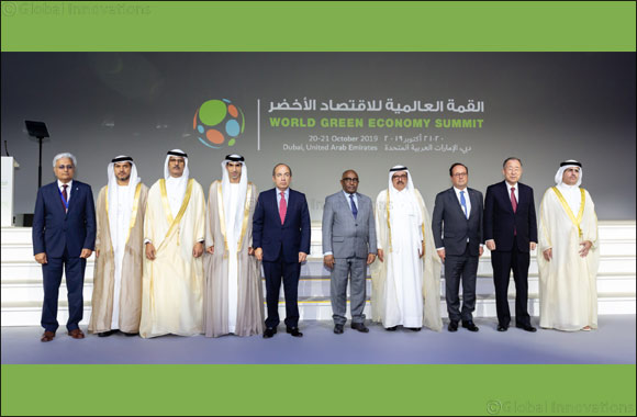 HH Sheikh Hamdan bin Rashid Al Maktoum inaugurates 6th World Green Economy Summit