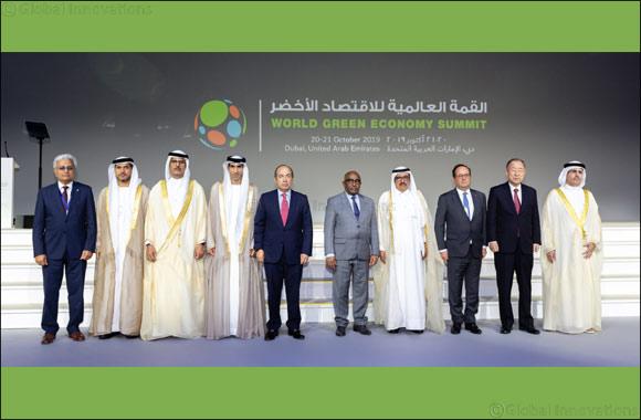 HH Sheikh Hamdan bin Rashid Al Maktoum inaugurates 6th World Green Economy Summit
