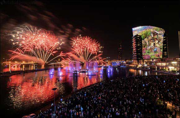 Dubai's Largest Diwali Celebrations Begin with Fireworks and Bollywood Dances on Festival Bay