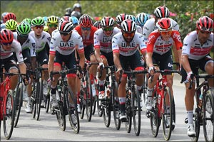 UAE Team Emirates' Gaviria Lands Second Stage Win in China With Emphatic Sprint Finish