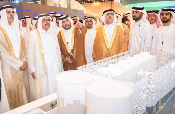 His Highness Sheikh Hamdan bin Rashid Al Maktoum visits Empower stand at WETEX 2019 and views the world's first unmanned District Cooling plant