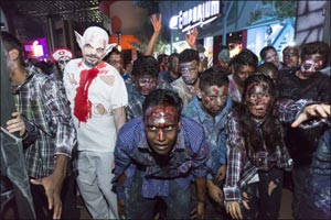 IMG Worlds of Adventure's Festival of Fright 2019
