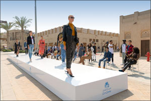 Making the community a catwalk: City Centre malls launch world's first outdoor fashion show on Googl ...