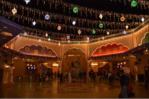 Celebrate a spectacular Diwali at BOLLYWOOD PARKS� Dubai