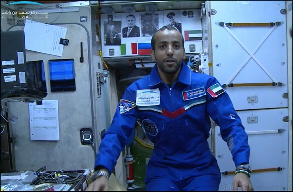 First filmed tour in Arabic at the ISS