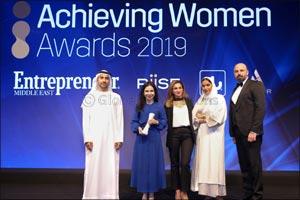 Dubai Startup Hub honoured at Achieving Women Awards 2019