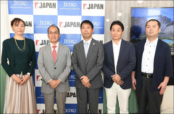 JETRO actions the increase in export of Japanese authentic rice and its products in the region and introduces Japan's rice flour for the first time in the UAE
