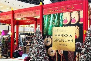 Marks & Spencer to Dazzle Some Magic & Sparkle Over Dubai Marina Mall This Festive Season