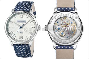 """1887"" the new Eberhard & Co. Watch Enlivened by the Eb140 Calibre"