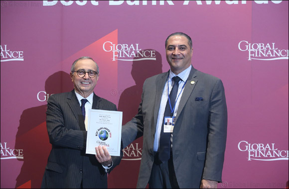 TBI Receives 'safest Bank in Iraq 2019' by Global Finance