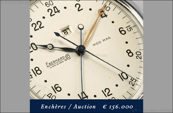 "The Eberhard & Co. ""Sistema Magini"" Chronograph Sells at Auction for 156,000 Euros"