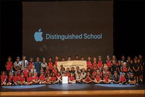GEMS Dubai American Academy Elementary named Apple Distinguished School
