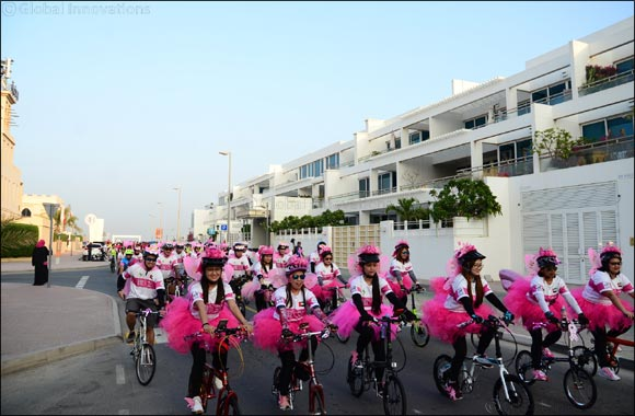 Dubai Pink Ride Attracts More than 4500 Participants
