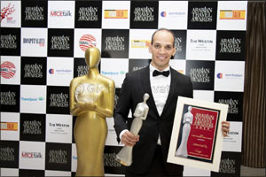 Copthorne Kuwait City Hotel wins its second award in less than a month