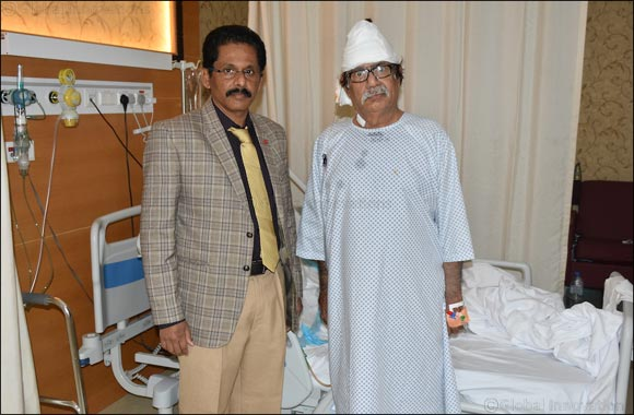 Medeor Hospital, Dubai gives new life to a 63-year-old patient in the UAE by removing an uncommon large brain tumor