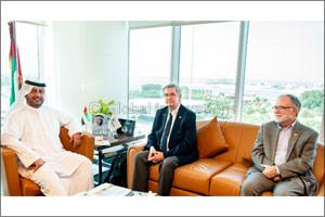 Ahmad Bin Shafar welcomes President of ASHRAE