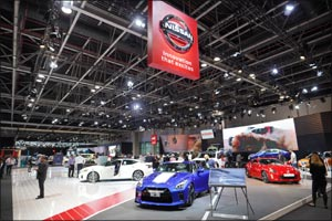 Arabian Automobiles Nissan to light up Dubai International Motor Show with innovative automotive off ...
