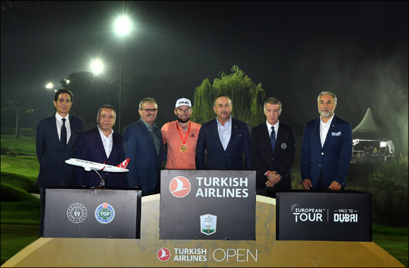 Hatton wins historic 2019 Turkish Airlines Open title.