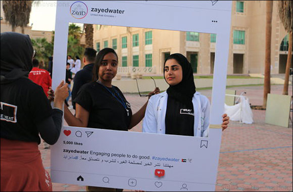 Zayed Water spreads the message of kindness and compassion at University of Sharjah Medical Campus