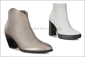 Edgy and Modern - ECCO Sculpted Heel Boots