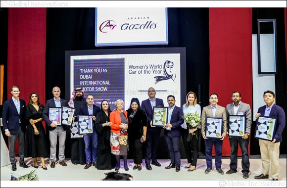 Women's World Car of the Year 2019 winners announced at Dubai International Motor Show