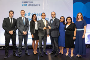 DHL wins Kincentric Best Employers Middle East & North Africa Award for the fifth consecutive year