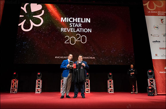 "Gennaro Esposito Receives ""Michelin Chef Mentor 2020"" Prize Awarded By Eberhard & Co."