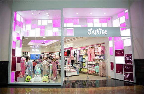 Tween girl fashion brand Justice opens new concept store in Mall of the Emirates