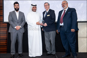 Ahmad Bin Shafar receives global recognition for his efforts in district cooling