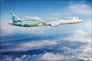 Etihad and Boeing Unveil the �Etihad Greenliner', to Explore �blue Sky' Opportunities to Cut Co2 Emi ...
