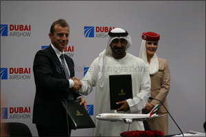 Emirates Leads Sales With $16billion Airbus Purchase Order Amid Busy Second Day at Dubai Airshow 201 ...