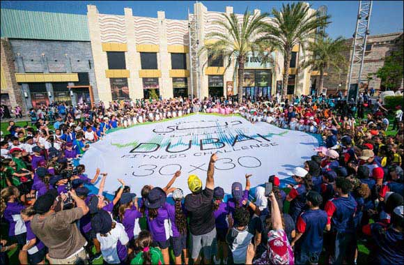 Crossing a Record of 1.1 Million Participants, Dubai Fitness Challenge Ends on a Resounding High
