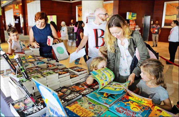 The Emirates Airline Festival of Literature highlights value of children's books to mark Universal Children's Day