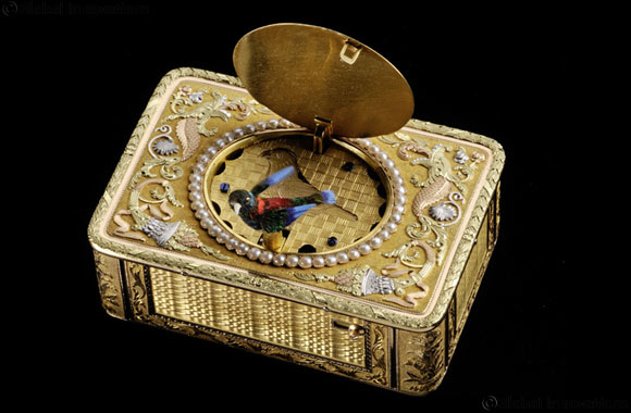 Restoration by Parmigiani Fleurier-Snuff Box with Singing Bird