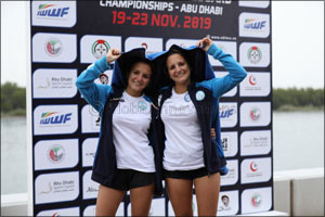 Italian Twins Double Up on Gold Medal  Trail in Abu Dhabi