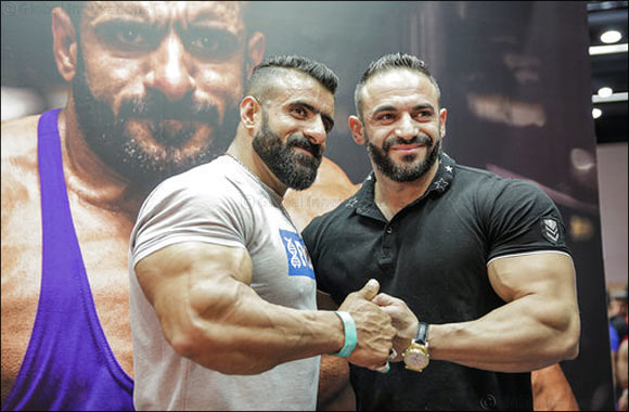 2019 Mr Olympia, Brandon Curry, makes his Dubai debut at the Dubai Muscle Show.