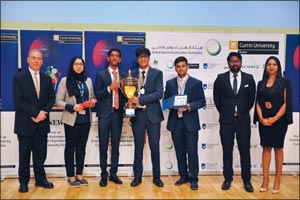 Students from GEMS Wellington International School outshine 1200 others at the DEWA Business Cup Cha ...