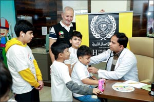 Aster Volunteers and Medcare Hospitals celebrate World Children's Day with 350 underprivileged child ...
