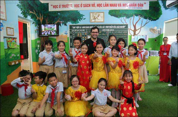 Dubai Cares delegation visits Vietnam to launch a three-year program that addresses the lack of child-friendly libraries and books in local language