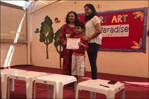 AVERY Products Middle East Awards Winners of Art Competition'