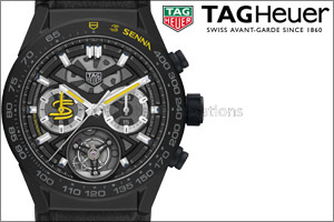 TAG Heuer launches 2 new timepieces in honor of Formula 1 legend Ayrton Senna