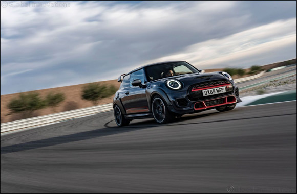 Emotional and highly dynamic: the design of the MINI John Cooper Works GP.
