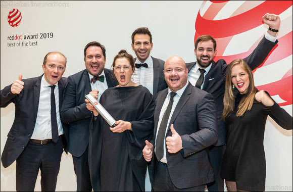 "GROHE received the ""Red Dot: Brand of the Year"""
