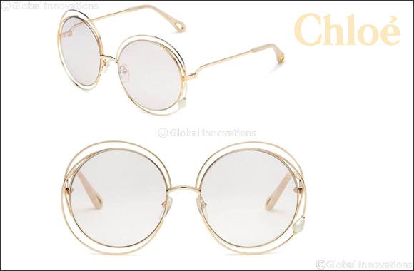 """Chloé's Iconic """"Carlina"""" Sunglasses  In a Precious New Interpretation"""