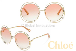 Chlo�'s Iconic �Carlina� Sunglasses  In a Precious New Interpretation
