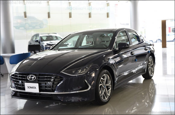 Hyundai's all-new 2020 Sonata now available in the UAE