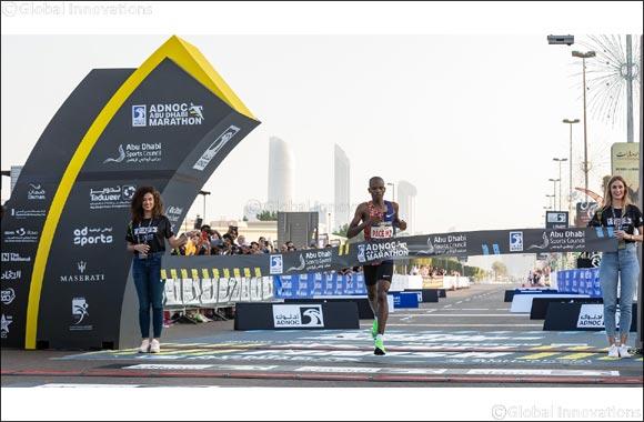 Reuben Kipyego and Vivian Kiplagat Win  2019 Adnoc Abu Dhabi Marathon