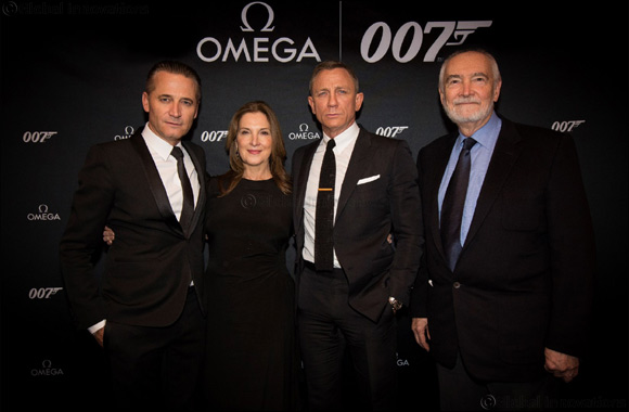 OMEGA Celebrates The New James Bond Watch in New York
