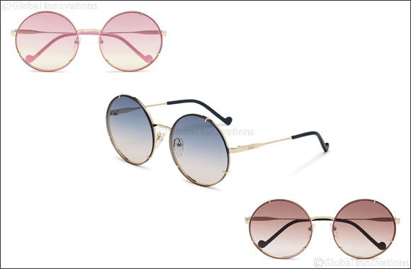 Liu Jo Eyewear Introduces a Trend-forward, New Sunglass Style  With an Ultralight Metal Structure