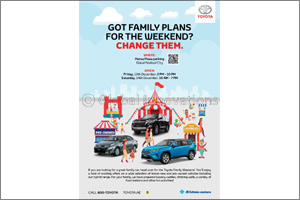 Need a plan for the weekend? Al-Futtaim Toyota has got you sorted with the �Toyota Family Weekend'